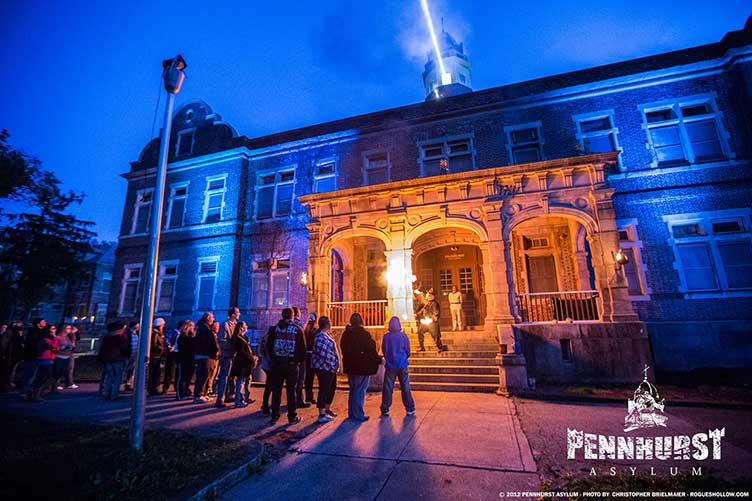 Pennhurst Haunted Asylum Pennsylvania Haunted House