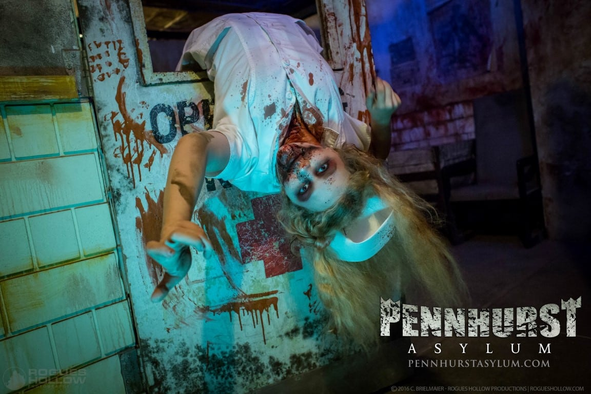 Pennhurst Haunted Asylum Pennsylvania Haunted House